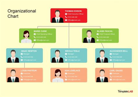 best organizational chart template org chart template best bussines