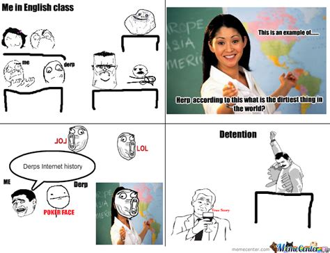 Meme Comic English - english class by creamy cakes meme center