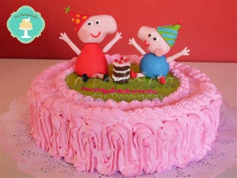 imagenes vulgares de la pepa la borboleta tortas decoradas torta peppa y george
