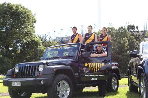 Richmond Jeep Jeep Teams Up With Richmond Tigers Football Club