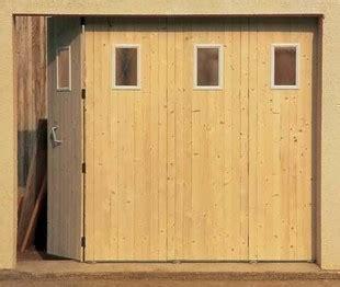 porte de garage coulissante bois motoris e voiture et