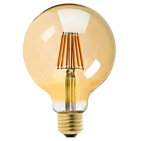G30 Led Vanity Bulb Gold Tint Led Filament Bulb 25 Led L Light Bulbs