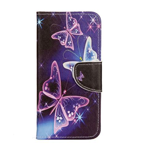 Asus Zenfone 4 Leathercase Flip for asus zenfone 4 selfie pro zd552kl purple