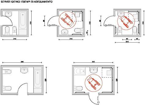 bagno per handicappati bagno disabili dimensioni minime bello bello bagno