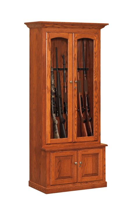 Gun Cabinet With Shelves by Gun Cabinets