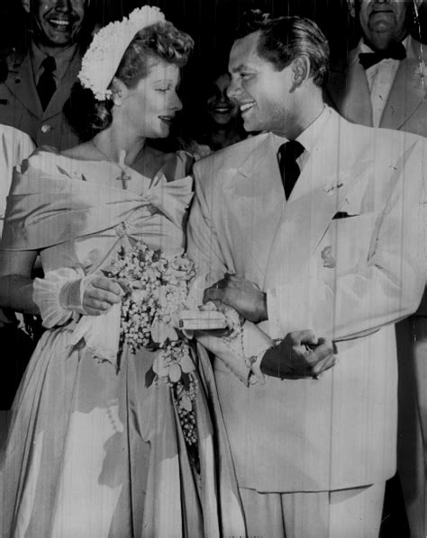 what di desi aenez say to lucy lucille ball wedding dress did you know that lucy was