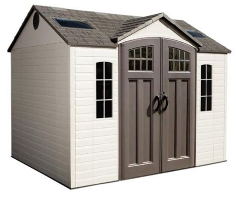 lifetime buildings  plastic garden storage shed