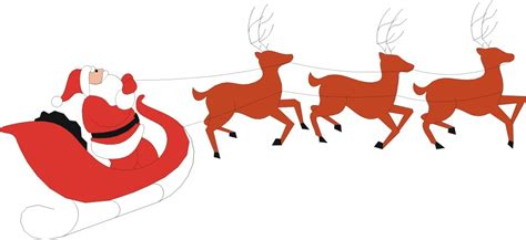Hot Christmas vs Cold Christmas: The Differences Free Clip Art Santa And Reindeer