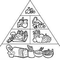 food pyramid coloring pages for kindergarten 1000 images about food groups on pinterest food groups