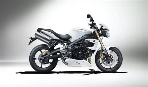 Triumph Street Triple Motorrad Abdeckung by Triumph Zugabe 2012 Motorrad News