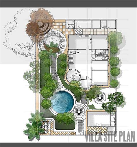 louisiana style garden home plan 14158kb architectural villa site plan design garden site plan pinterest