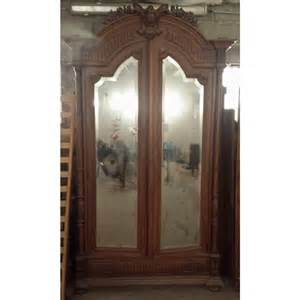 antique armoire with mirror cab 90 antique mirror armoire