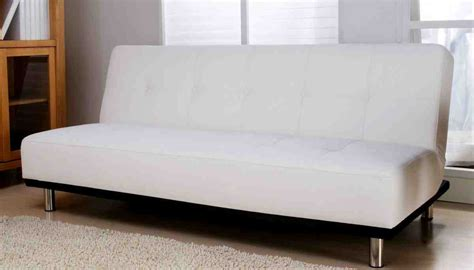 White Leather Futon Sofa Bed White Leather Futon Sofa Bed Home Furniture Design