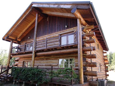 Log Cabin Style House Plans why good log homes don t have settling problems