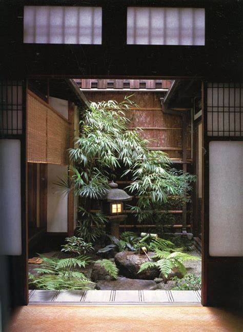 15 mix modern japanese courtyard with nature house design and decor