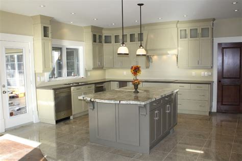 cottage kitchen modern toronto  laurentide