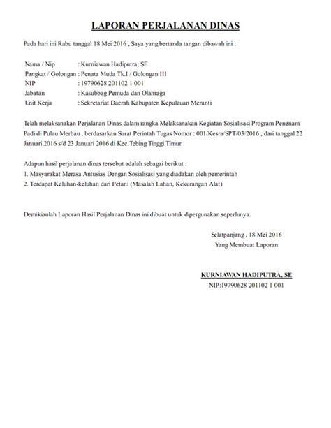 Contoh Sppd Perjalanan Dinas by Aplikasi Sppd Terbaru