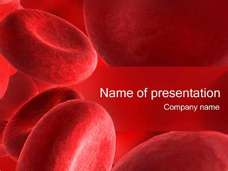 blood ppt templates free blood cells powerpoint template backgrounds id