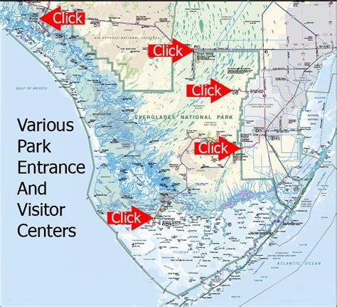 everglades national park map everglades national park map