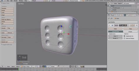 blender tutorial dice stereopixol how to create a dice in blender