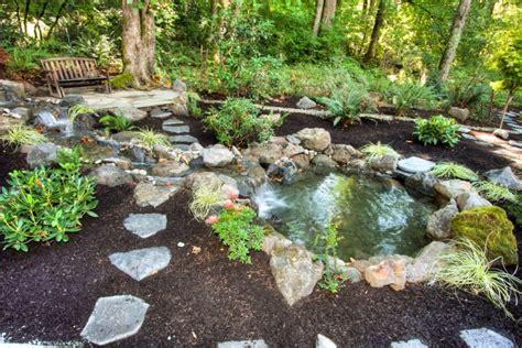 Rock Garden Pond 18 Garden Pond Designs Ideas Design Trends Premium Psd Vector Downloads