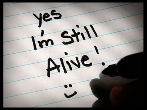 Still Living by Yes I M Still Alive Overthrow Status Quo