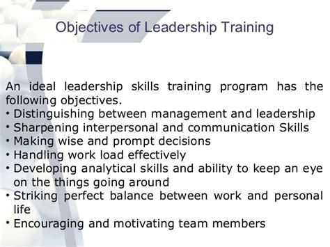 leadership skills interpersonal process in counseling and therapy books leadership program benefits and objectives