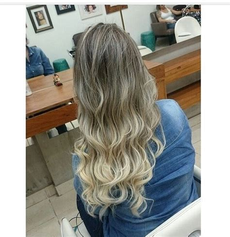 platinum blonde ombre hair hair platinum blonde ombre cabelos e etc pinterest