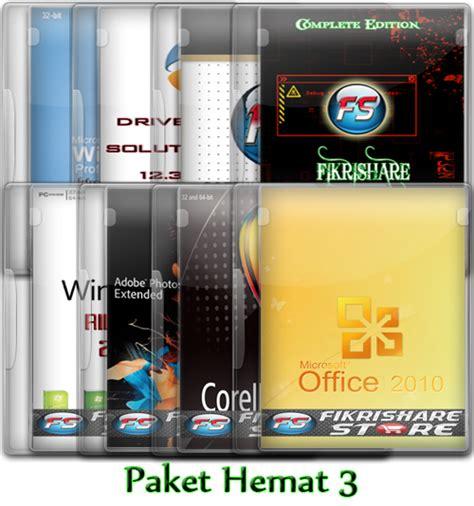 Paket Hemat Rp 100 000 paket hemat instal ulang r 4 f z