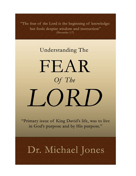 the fear of god books understanding the fear of the lord mini book teaching