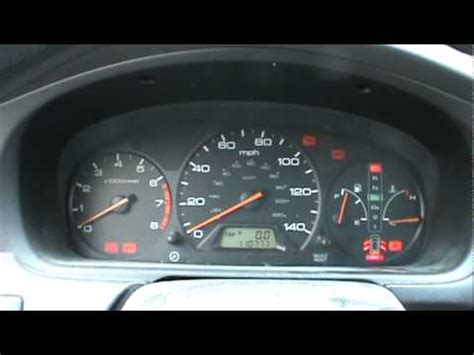 How To Reset The Maintenance Light On A 1999 04 Honda