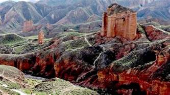 zhangye danxia landform colour china hd1080p
