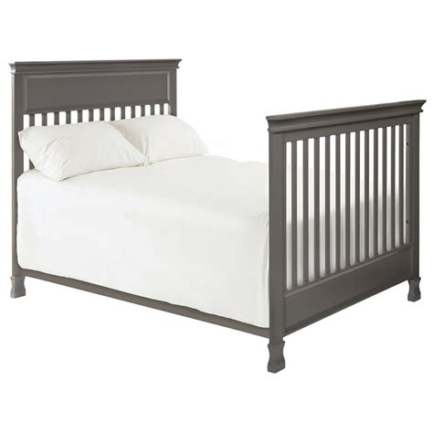 Million Dollar Baby Classic Foothill Convertible Crib With Toddler Rail Million Dollar Baby Classic Foothill 4 In 1 Convertible Crib In Gray M3901mg