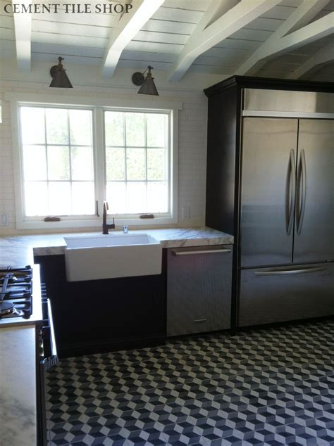 Grey Kitchen Backsplash harlequin cement tile cement tile shop blog