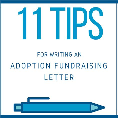 Fundraising Letter Tips 11 Tips To Write An Effective Adoption Fundraising Letter