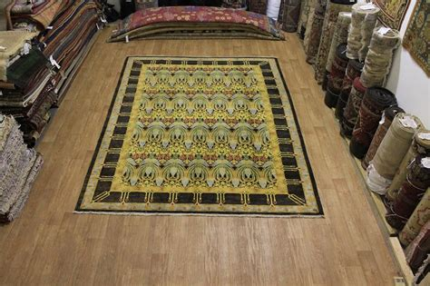 Mission Area Rugs Masterpiece Mission Style 9x12 Craft Area Rug Wool Carpet Nwq Ebay