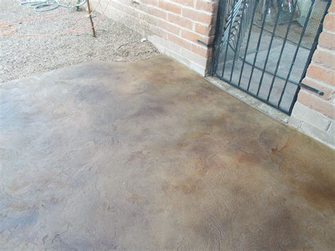 Stained Concrete Patio Designs Tucson Concrete Overlay Decorative Concrete Flooring Overlays