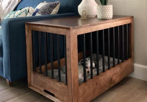 build  dog crate  doubles    table
