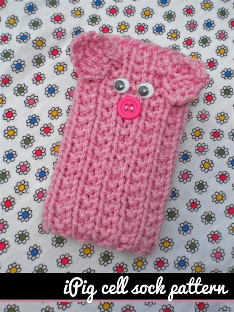 how to knit a phone sock knitted phone patterns craftsy