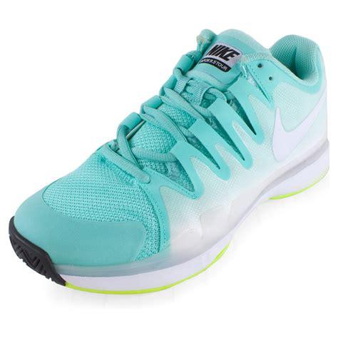 nike comfort tennis shoes nike womens zm vpr 9 5 tour tns shoes turq vt