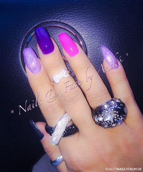 Holgen Purple purple pink color nails geln 228 gel
