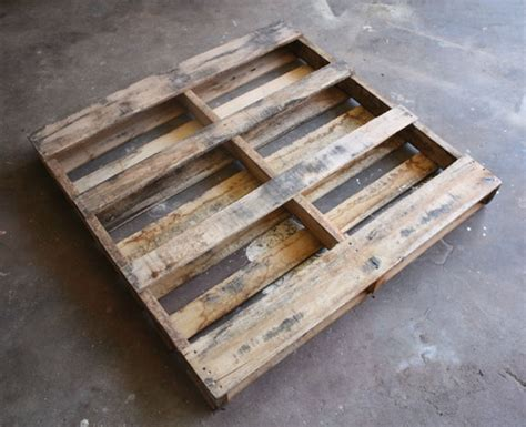 Shipping Pallet by How Tuesday Upcycled Pallet Shelf Etsy Journal