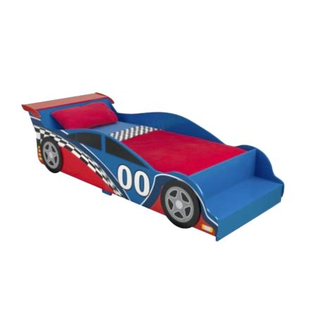 race car bed set kidkraft racecar toddler bed with 4 piece bedding set
