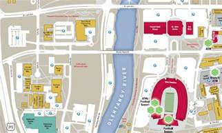 Ohio State Campus Map by The Ohio State University Nrotc