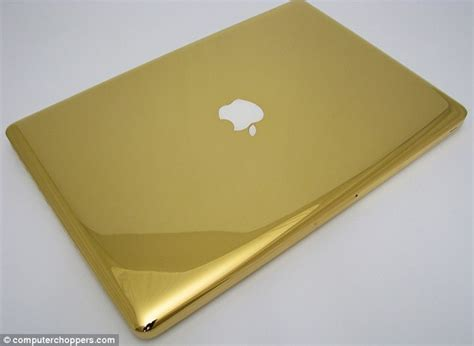 Laptop Apple Gold the ultimate midas touch the 24 carat gold macbook pros