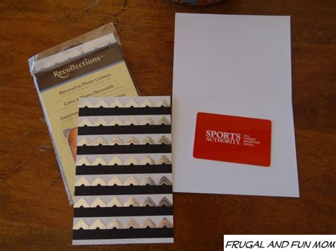 Make A Gift Card Holder - diy gift card holder an easy fix to dress up a loose present fun learning life