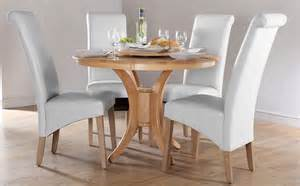round table dining room sets somerset boston round oak dining room table and 4