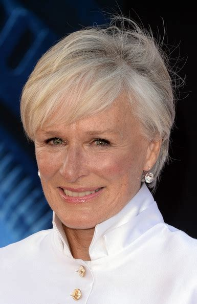 More Pics of Glenn Close Short cut with bangs (4 of 17