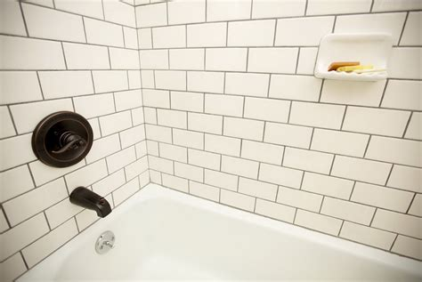 Black Subway Tile Kitchen Backsplash Black And White Tile Backsplash Black And White Backsplash