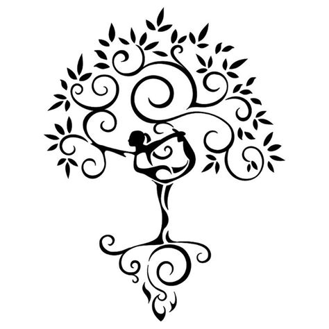 tree of life tribal tattoo tribal tree of like the simplicity